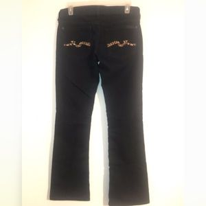 7 For All Mankind Jeans - 7 For All Mankind Leopard Sparkle Bootcut Jeans 27